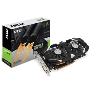 MSI GeForce GTX1060 OC 6GB