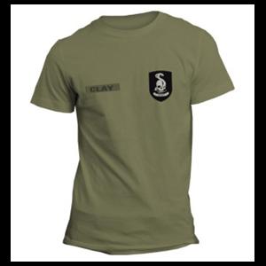 Camiseta Infantería Verde Mafia III Talla L