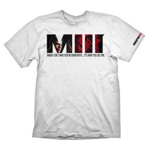 Camiseta Blanca Mafia III Talla S
