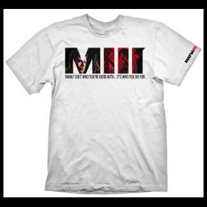 Camiseta Blanca Mafia III Talla XL