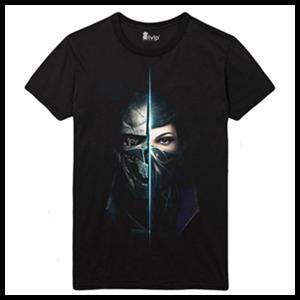 Camiseta Dishonored 2 Two Shadows Talla M