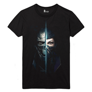 Camiseta Dishonored 2 Two Shadows Talla L