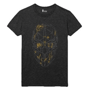 Camiseta Dishonored 2 Máscara de Corvo Talla L