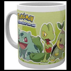 Taza Pokemon Tipo Planta