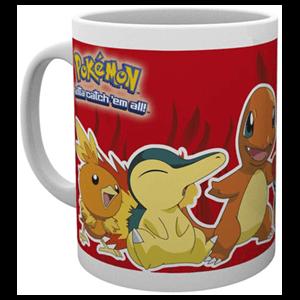 Taza Pokemon Tipo Fuego