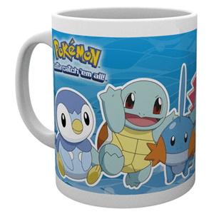 Taza Pokemon Tipo Agua