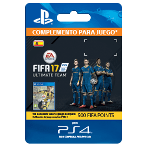 500 FIFA 17 Points Pack PS4