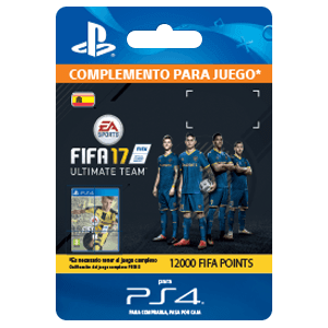 12000 FIFA 17 Points Pack PS4