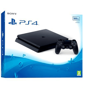 Playstation 4 Slim 500Gb Negro