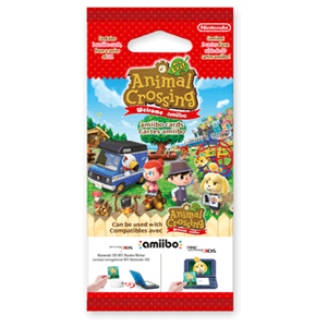 Pack 3 Tarjetas amiibo Animal Crossing New Leaf