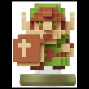 Figura amiibo Link 8-Bits - Colección Zelda