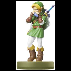 Figura amiibo Link Ocarina of Time - Colección Zelda