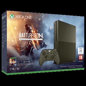 Xbox One S 1Tb + Battlefield 1