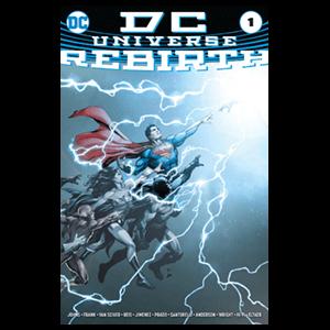Cómic Universo DC Renacimiento