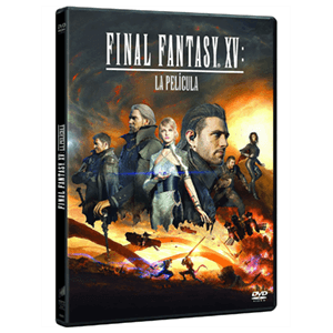Final Fantasy XV: La Pelicula DVD