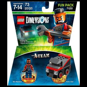 LEGO Dimensions Fun Pack: El Equipo A
