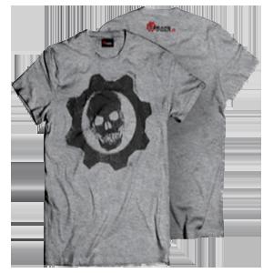 Camiseta Gris Gears of War 4 Talla M