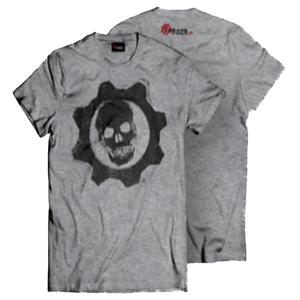 Camiseta Gris Gears of War 4 Talla XL