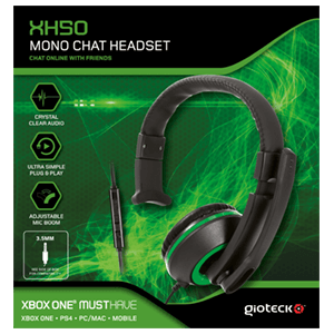 Auriculares Gioteck XH50 Verde XONE/PC