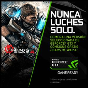 Gears of War 4 Digital Promo Nvidia  GTX