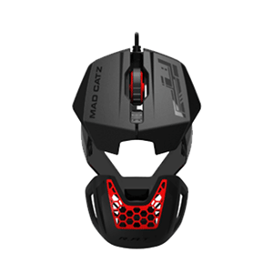 Mad Catz RAT1 Negro-Rojo