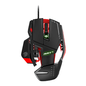 Mad Catz RAT6 Laser Gaming Mouse