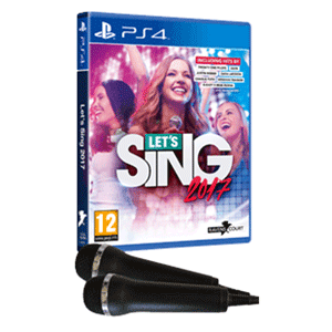 Let's Sing 2017 + 2 Micrófonos