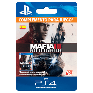 Mafia III Season Pass PS4