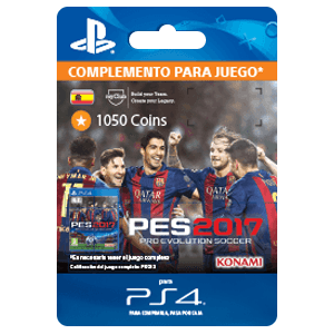 PES 2017 1050 myClub Coins PS4