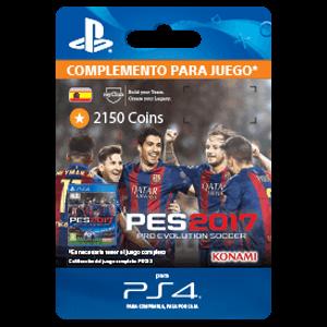PES 2017 2150 myClub Coins PS4
