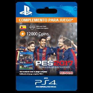 PES 2017 12000 myClub Coins PS4