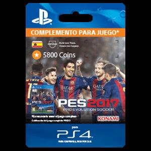 PES 2017 5800 myClub Coins PS4
