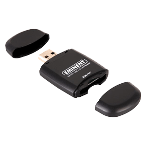Eminent lector de tarjetas SD USB 3.0