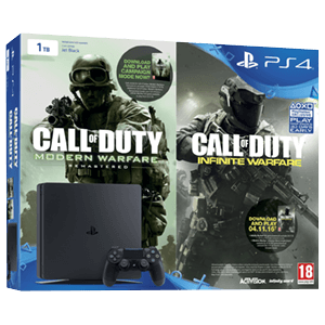 Playstation 4 Slim 1Tb + CoD: Infinite Warfare + COD: Modern Warfare