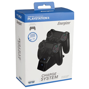 Cargador Dual Mandos PS4 Energizer