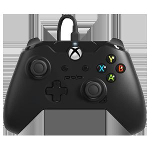 Controller con Cable PDP Negro -Licencia Oficial Microsoft-