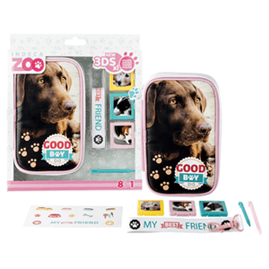 Kit 8 Accessorios New3DSXL Indeca Zoo OI2016