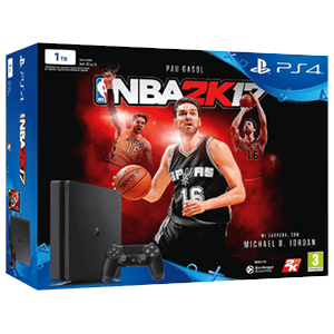 Playstation 4 Slim 1Tb + NBA 2K17