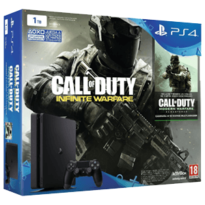 Playstation 4 Slim 1Tb + Call of Duty: Infinite Warfare Legacy