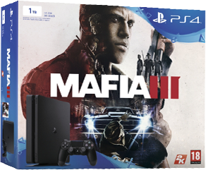 Playstation 4 Slim 1Tb + Mafia III