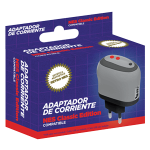Adaptador Corriente Ftec para Nintendo Classic Mini NES