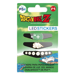 LED Stickers para Mando PS4 Dragon Ball Z