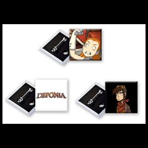 Deponia PS4 - Chapas