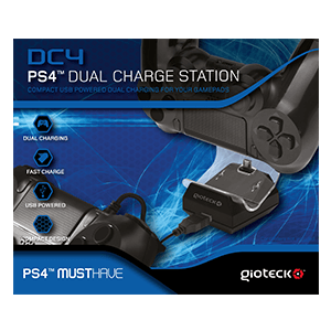 Cargador Dual Mandos DC4 Gioteck