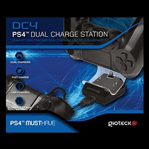 Cargador Dual DC4 Gioteck