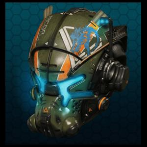 Figura Vanguard Titanfall 2 (casco)