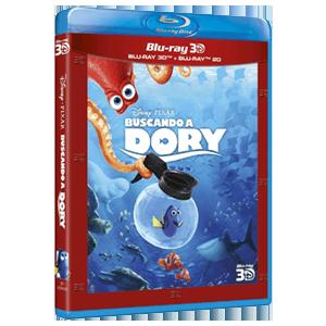 Buscando a Dory BD 3D