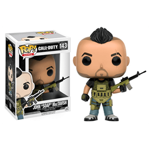 Figura Pop Call of Duty: John Soap MacTavish