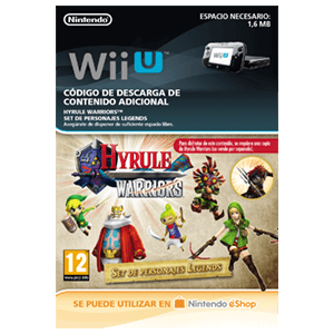 Hyrule Warriors Set de Personajes Legends - Wii U