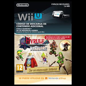 Hyrule Warriors Set de Personajes Legends - Wii U